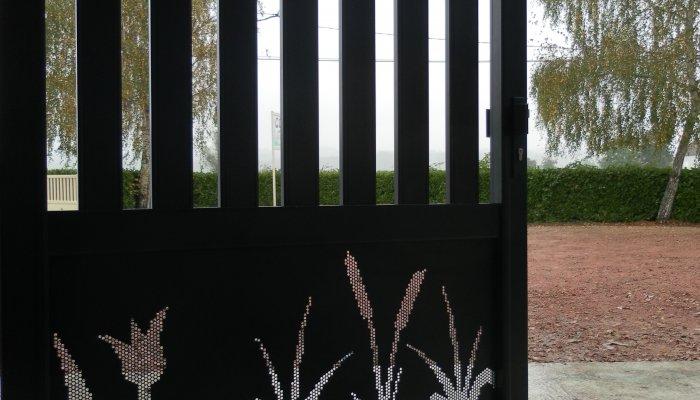 Portail Déco CGA 15 Fleur